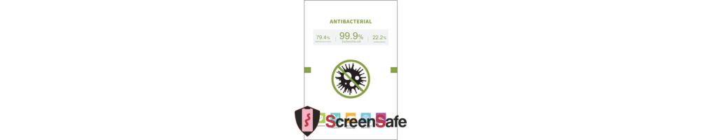 ScreenSafe Anti Bacterieel